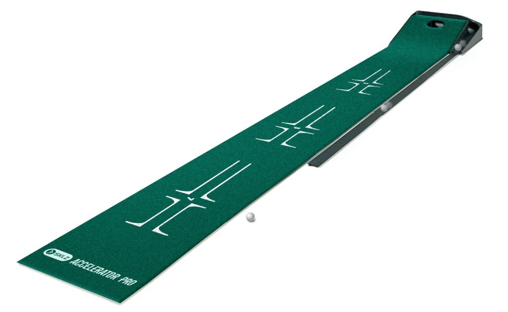 sklz accelerator pro ball return putting mat - best indoor putting green
