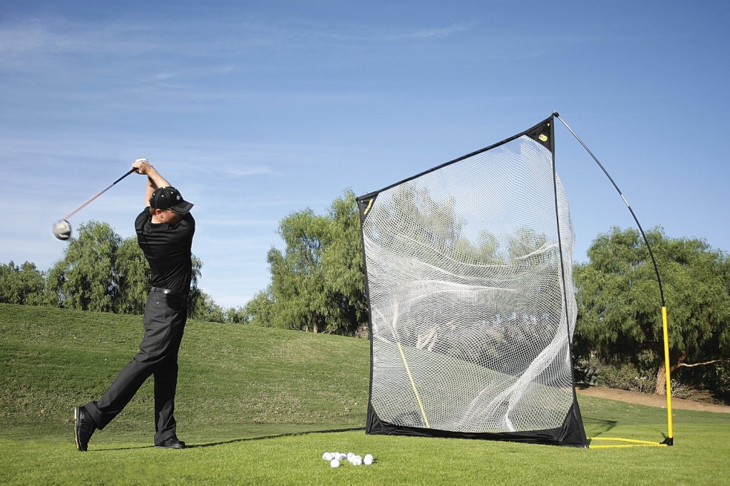 sklz quickster golf net with target