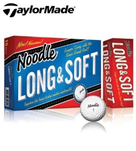taylormade noodle golf balls