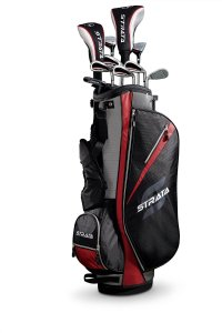 callaway strata mens complete golf set best beginner golf clubs