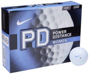 nike golf womens power distance golf balls