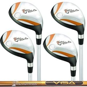 palm springs golf visa hybrid golf club set