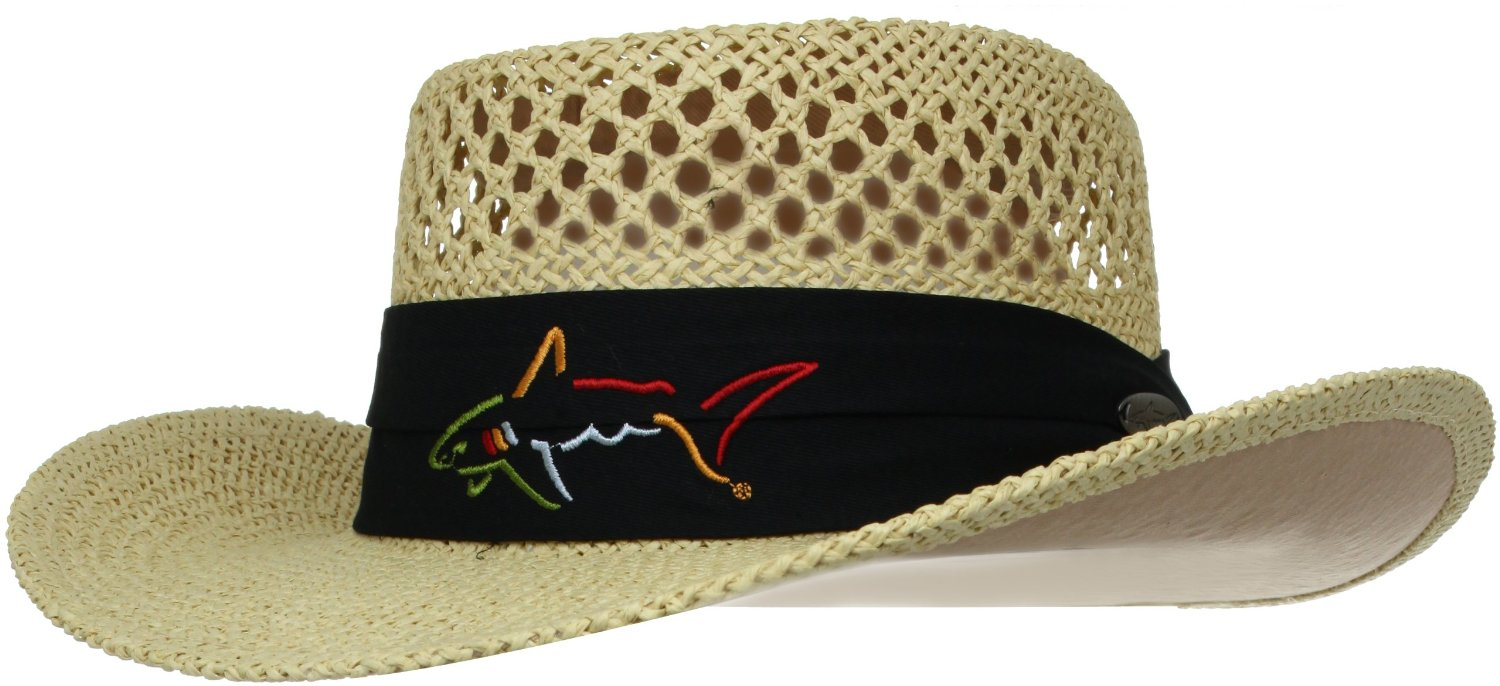 greg norman straw hat best golf hats - Golf Gear Geeks 4688d65820e