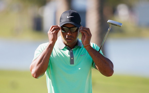Tiger Woods rocking his Nike Golf Cap