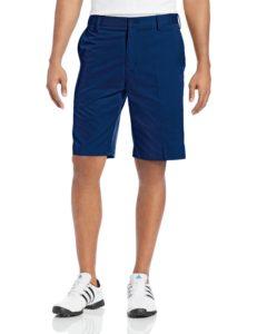 adidas golf mens flat front shorts