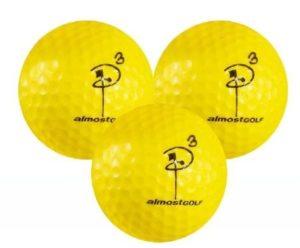 almostgolf best practice golf balls
