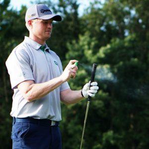 golf club grip spray